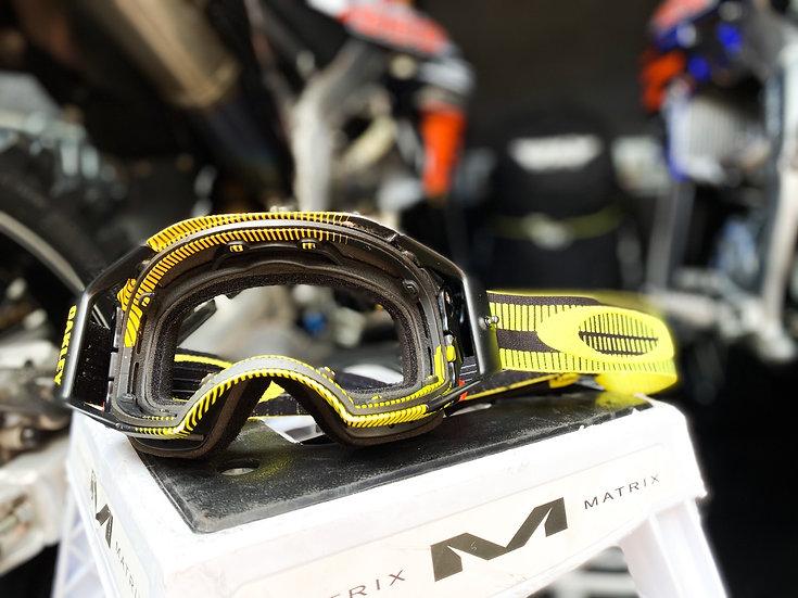 Oakley Airbrake yellow/black NO LENSE