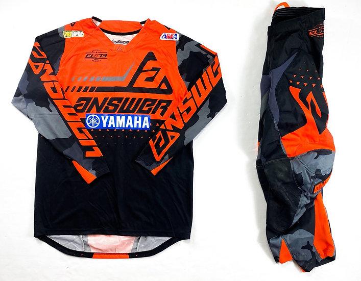Answer MX Elite orange/camo gear combo (28/M)