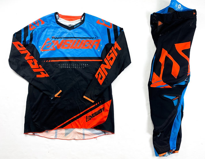 Answer MX Elite orange/blue gear combo (28/M)