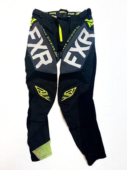 FXR pants volt green/black Size 32