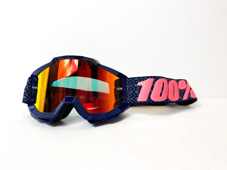 100% Accuri navy/pink tint