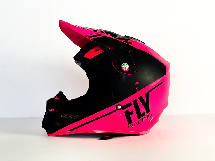 Fly F2 Carbon MIPS pink/black helmet Size Medium