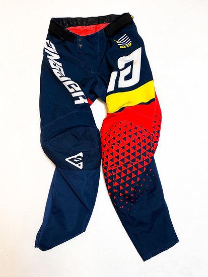 Answer MX Trinity navy/red pants Size 32