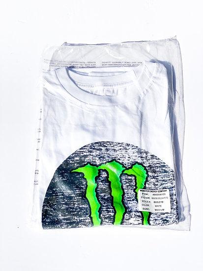 """Monster Energy """"athlete only"""" T-shirt size Medium BRAND NEW"""