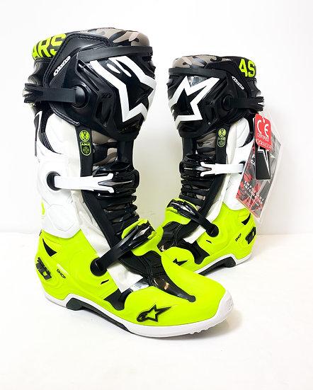 "Alpinestars Tech 10 LE ""AMS 21"" Boots Size 8 NEW"