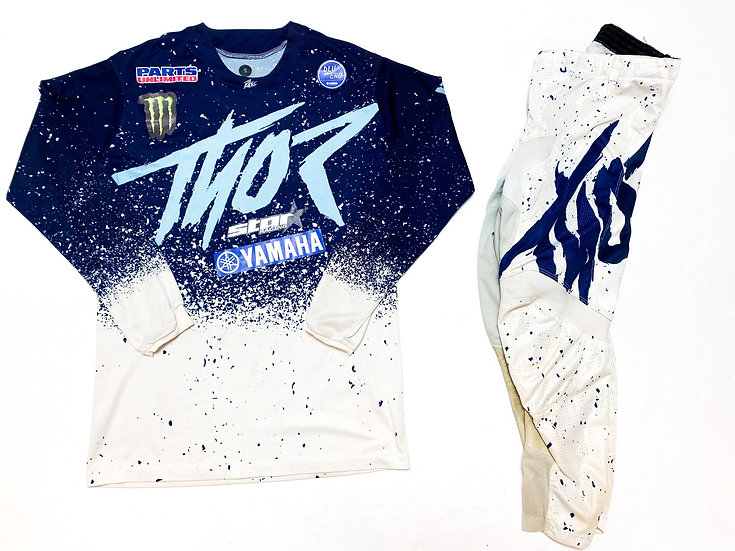 Thor Pulse Air navy/white gear combo (28/S)