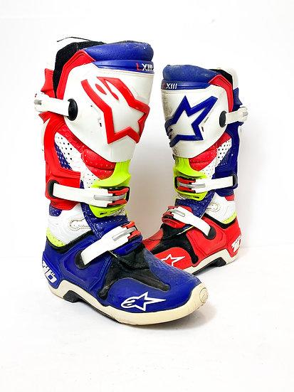 "Alpinestars Tech 10 ""Nations"" boots Size 7"