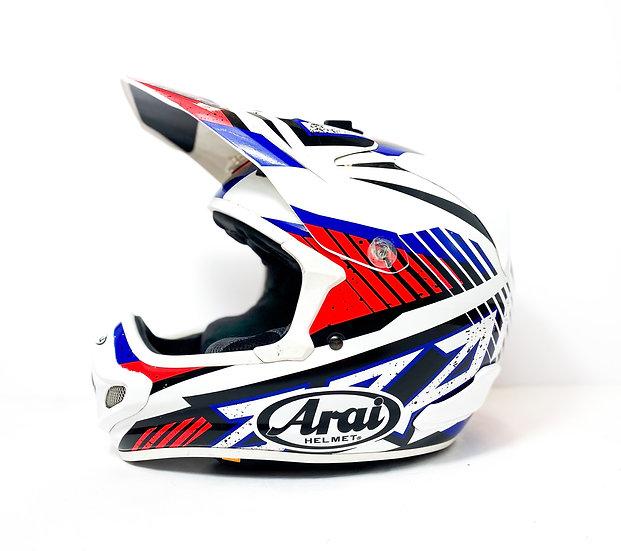 Arai VX-Pro4 red/blue/white Helmet Size XS