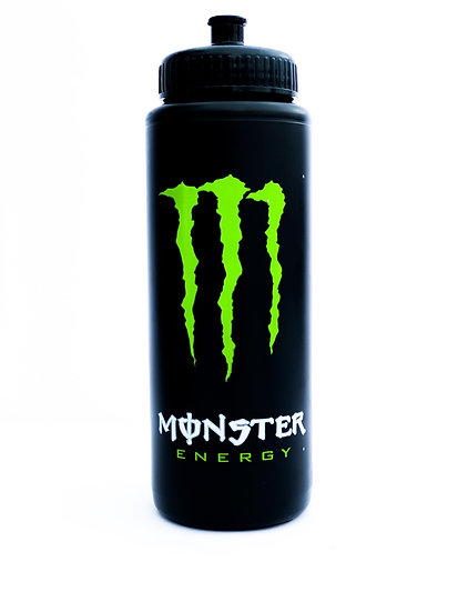 "Monster Energy ""Athlete only"" water bottle"