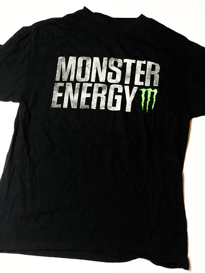 Monster Energy athlete only T-Shirt Size Medium