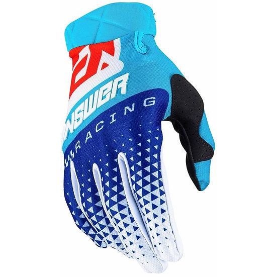 Answer AR3 red/blue gloves BRAND NEW (Size Medium)