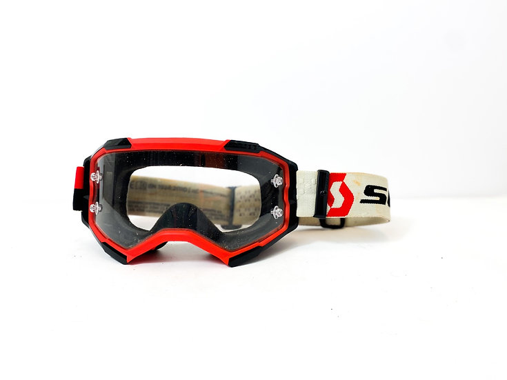 Scott Fury red/white