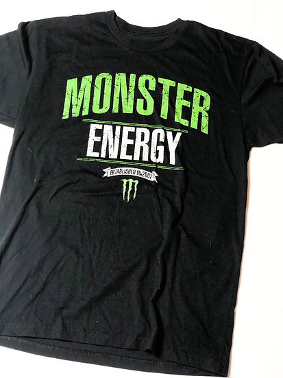 Monster Energy athlete only T-Shirt Size Medium