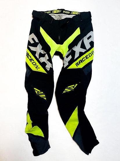FXR pants volt/black Size 32