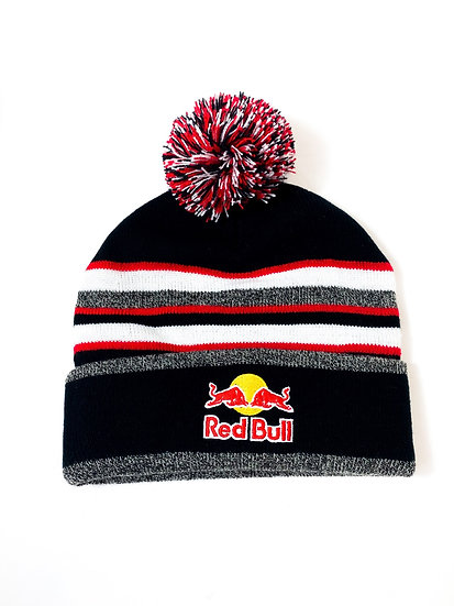 Redbull Athlete Only Pom Beanie black/red BRAND NEW