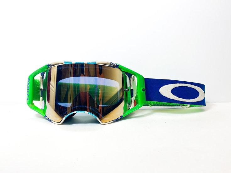 Oakley Airbrake green/blue