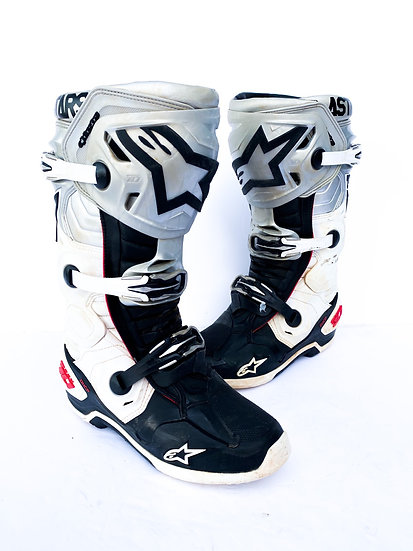 "Alpinestars Tech 10 Unreleased ""Victory"" boots Size 8"