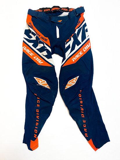 FXR pants navy/orange Size 32