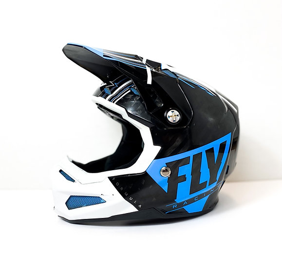 Fly Formula Carbon blue/white Helmet Size Small