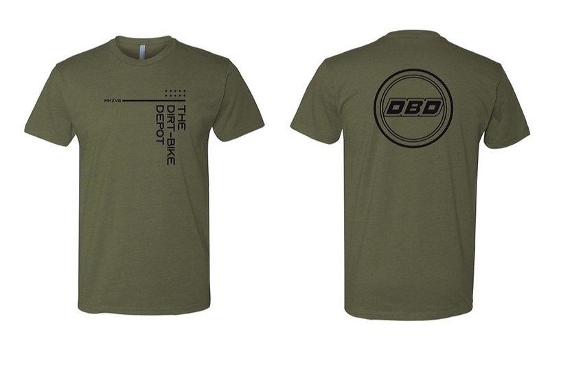 Team DBD T-shirt Olive/Black