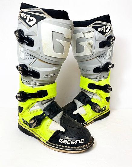 Gaerne SG-12 volt/grey boots Size 7
