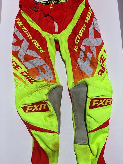 FXR Mission Air pants orange/yellow Size 30