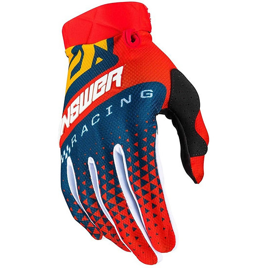 Answer AR3 red/yellow gloves BRAND NEW (Size Medium)