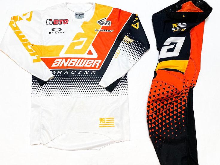 Answer Elite orange/black gear combo (30/S)