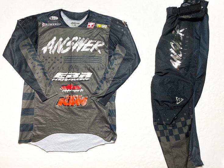 "Answer Racing Elite ""Redzone"" gear combo (32/M)"