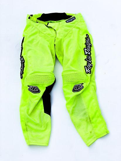 Troy Lee Designs GP volt green pants Size 30