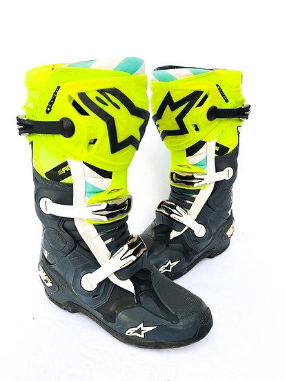 "Alpinestars Tech 10 Unreleased ""A1 2020"" boots Size 8"