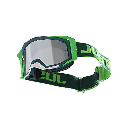 "JUST1 ""IRIS"" Track Green goggles BRAND NEW"
