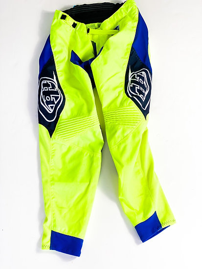 TLD volt yellow/blue pants Size 30