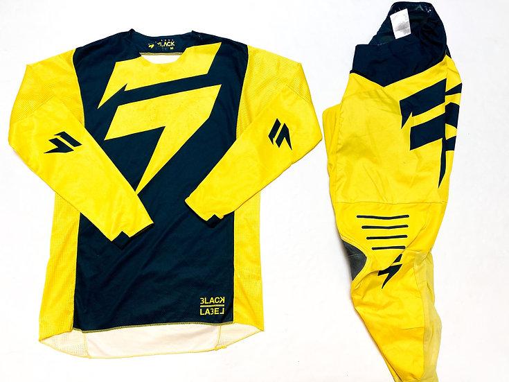 Shift Black Label yellow/navy gear combo (32/M)