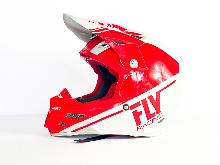 Fly F2 Carbon MIPS red/white helmet Size Medium