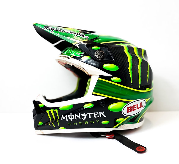 "Bell Moto 9 Flex ""McGrath Monster Replica"" helmet Size Medium"