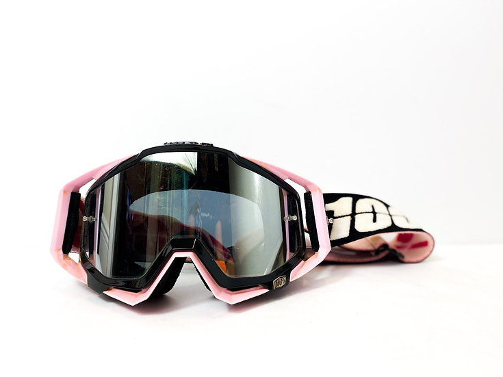 100% Racecraft pink/black