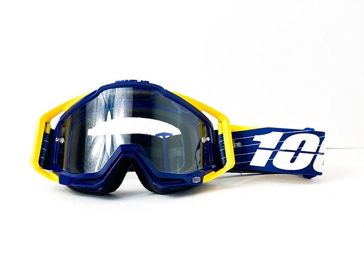 100% Racecraft yellow/navy