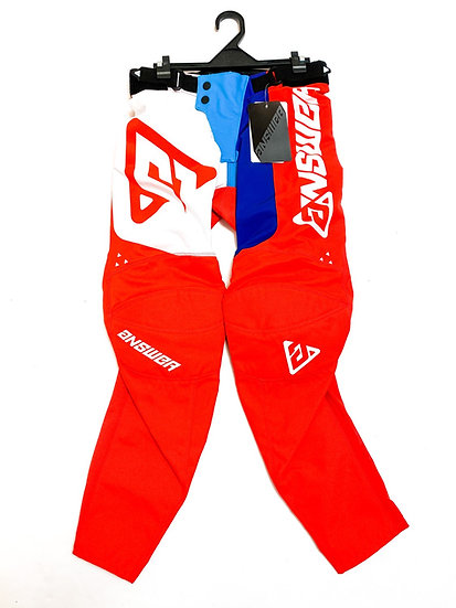 Answer Elite pants red/white BRAND NEW Size 28