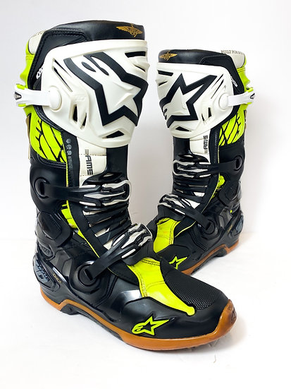 """Alpinestars Tech 10 Unreleased Athlete Only """"Seattle Space"""" Boots Size 10"""