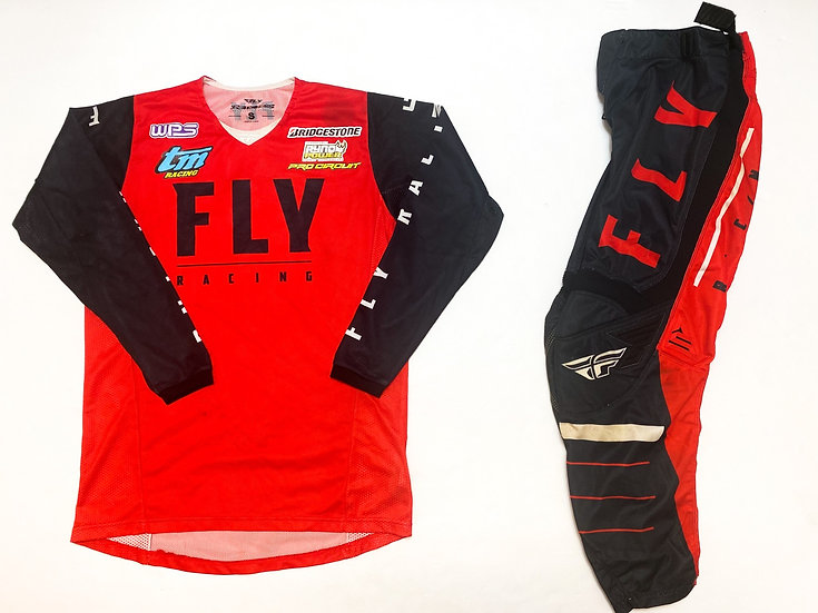 Fly Kinetic Mesh red/black gear combo (30/S)