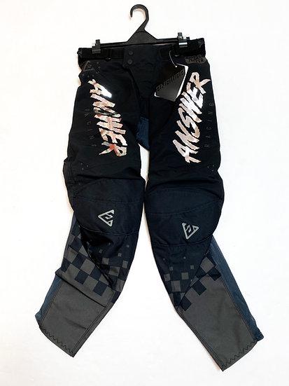 Answer Elite pants black/chrome BRAND NEW Size 28