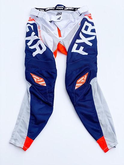 FXR Helium Orange/navy pants size 30