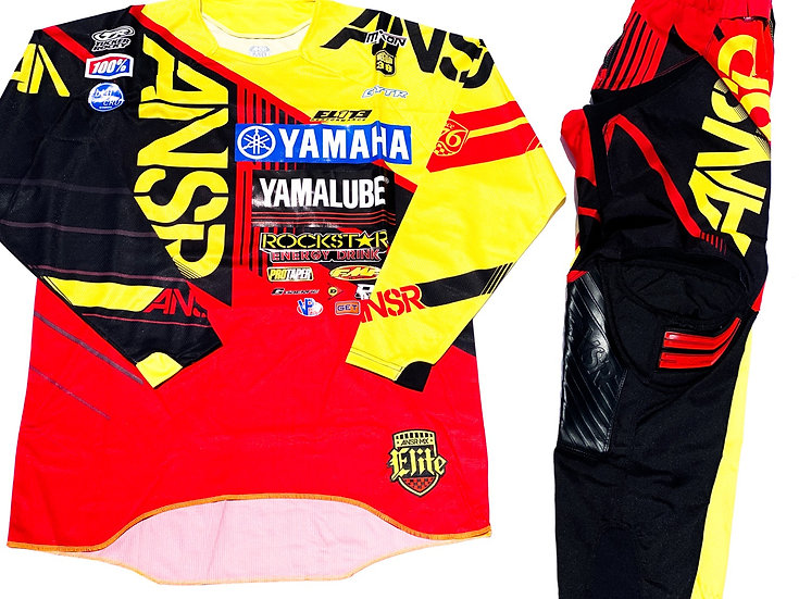 Answer Elite red/yellow/black gear combo (32/M)