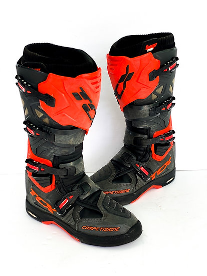 TCX Comp Evo 2 Michelin orange/grey boots Size 10