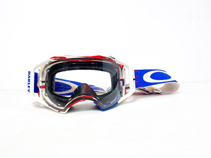 Oakley Airbrake red/blue