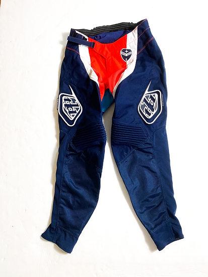 Troy Lee Designs GP pants navy/orange Size 30