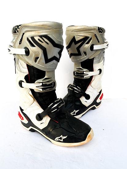 "Alpinestars Tech 10 Unreleased ""Victory"" boots Size 8"