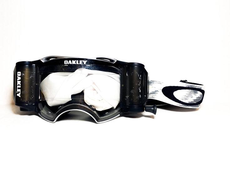 Oakley Airbrake Rolloff white/black