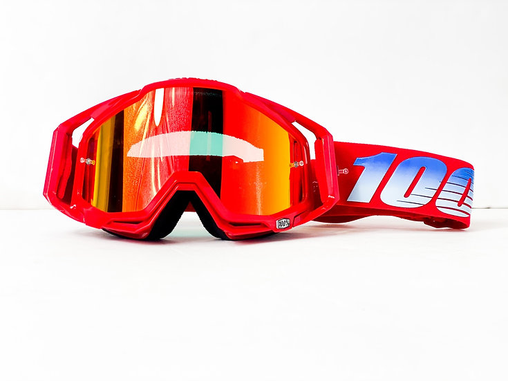 100% Racecraft red/blue